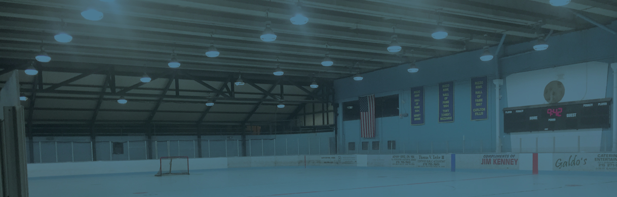 Rizzo Hockey Rink Chooses Keystone for LED Lighting Upgrade