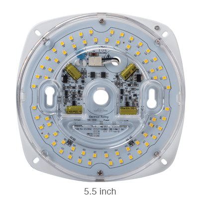 5.5 inch AC direct L.E.D. light engine