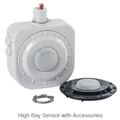 high bay occupancy sensor with lens accessories