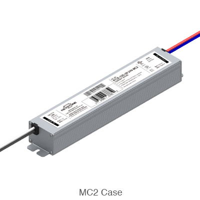 constant current L.E.D. driver in compact MC2 case style