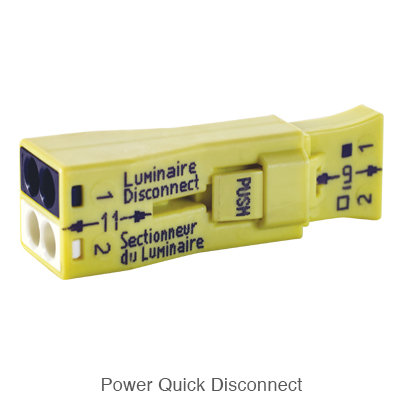 yellow power quick disconnect