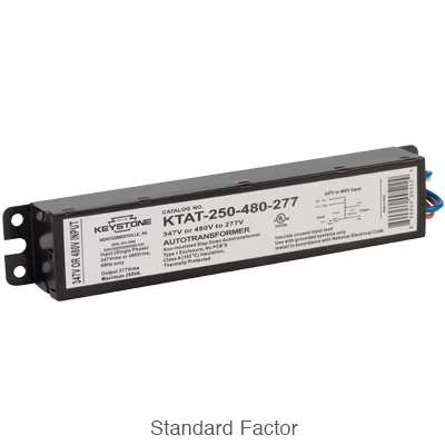 standard form factor step down transformer