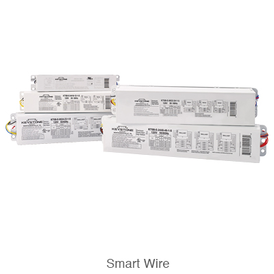 five various smart wire electronic sign ballasts