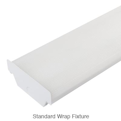 standard form L.E.D. wraparound fixture