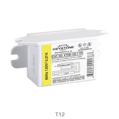 T12 fluorescent ballast