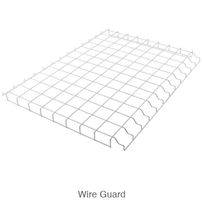 wire guard for L.E.D. high bay lights