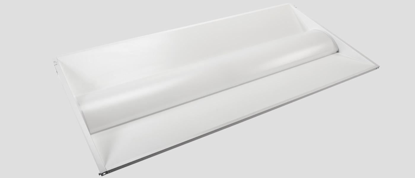 2x4 LED troffer