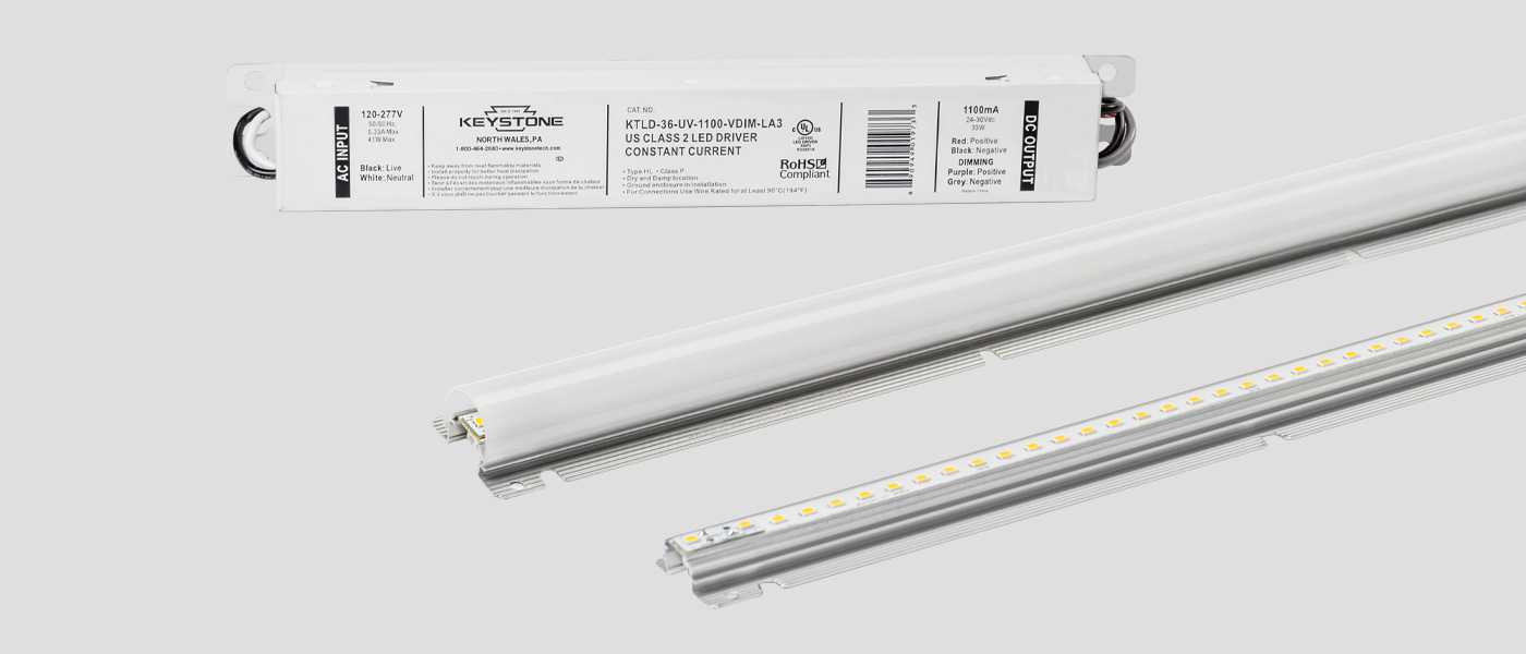 4ft Alumagroove linear LED module kit
