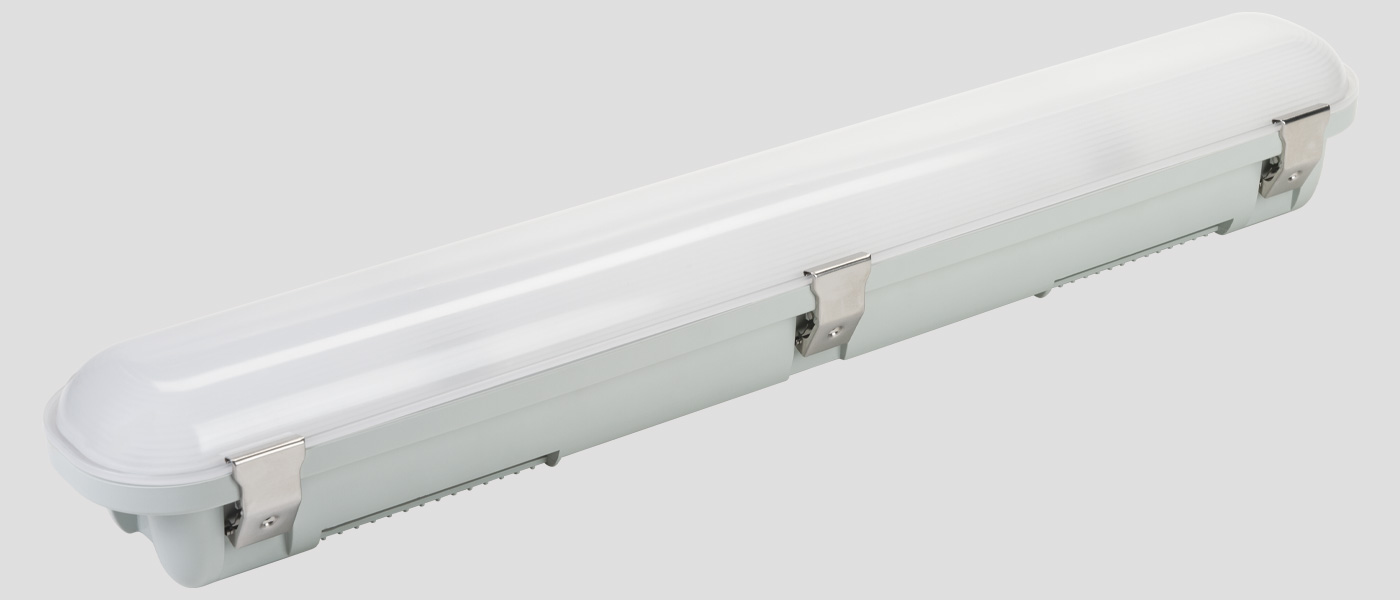 Vapor Tight LED fixture