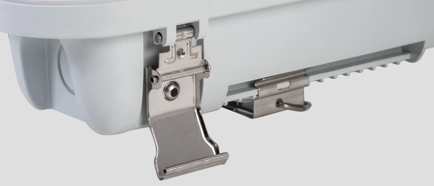Vapor Tight fixture clips
