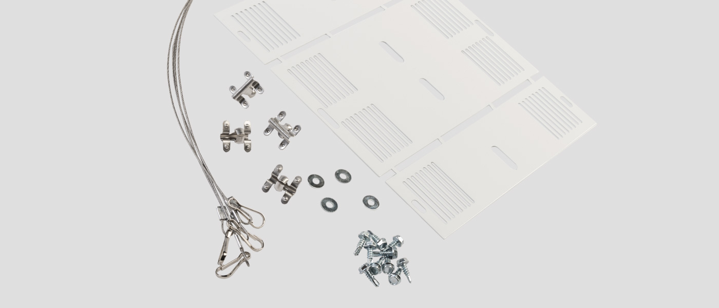 Strip LED retrofit kit accessories