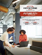 Front cover of Future Fit Light Engines brochure with people at a desk