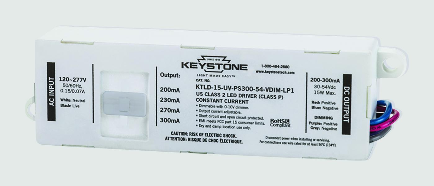 15W adjustable LED driver in LP1 case
