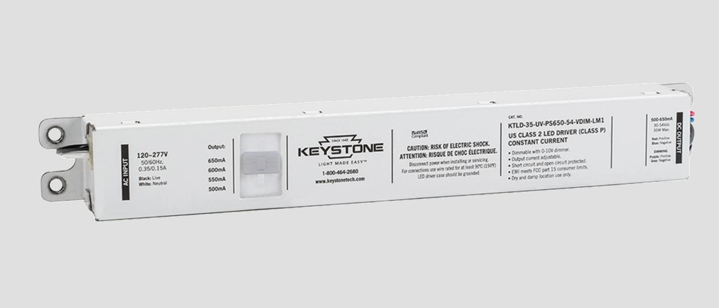 35W adjustable LED driver in LM1 case