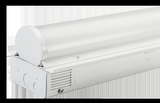 LED strip fixture retrofit kit
