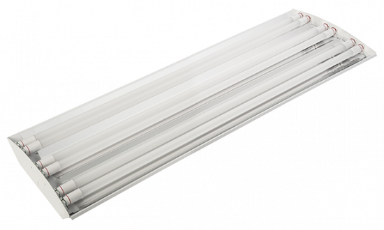 LED tube ready high bay fixture