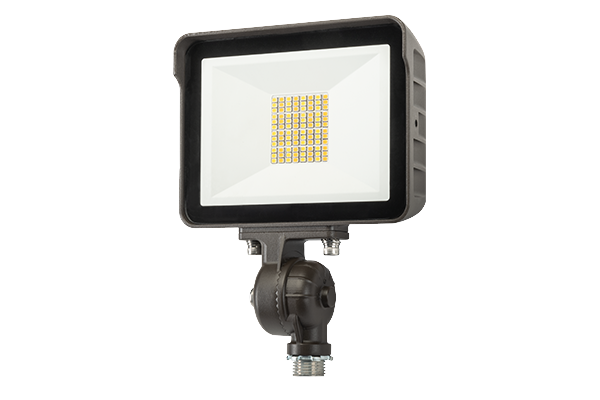 LED flood light fixture