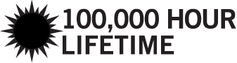 100,000 Hour lifetime
