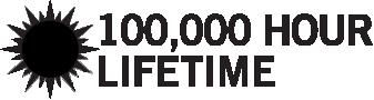 100,000 Hour lifetime