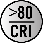 80 CRI