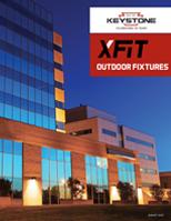Outdoor Fixture Brochure Cover with Building Exterior