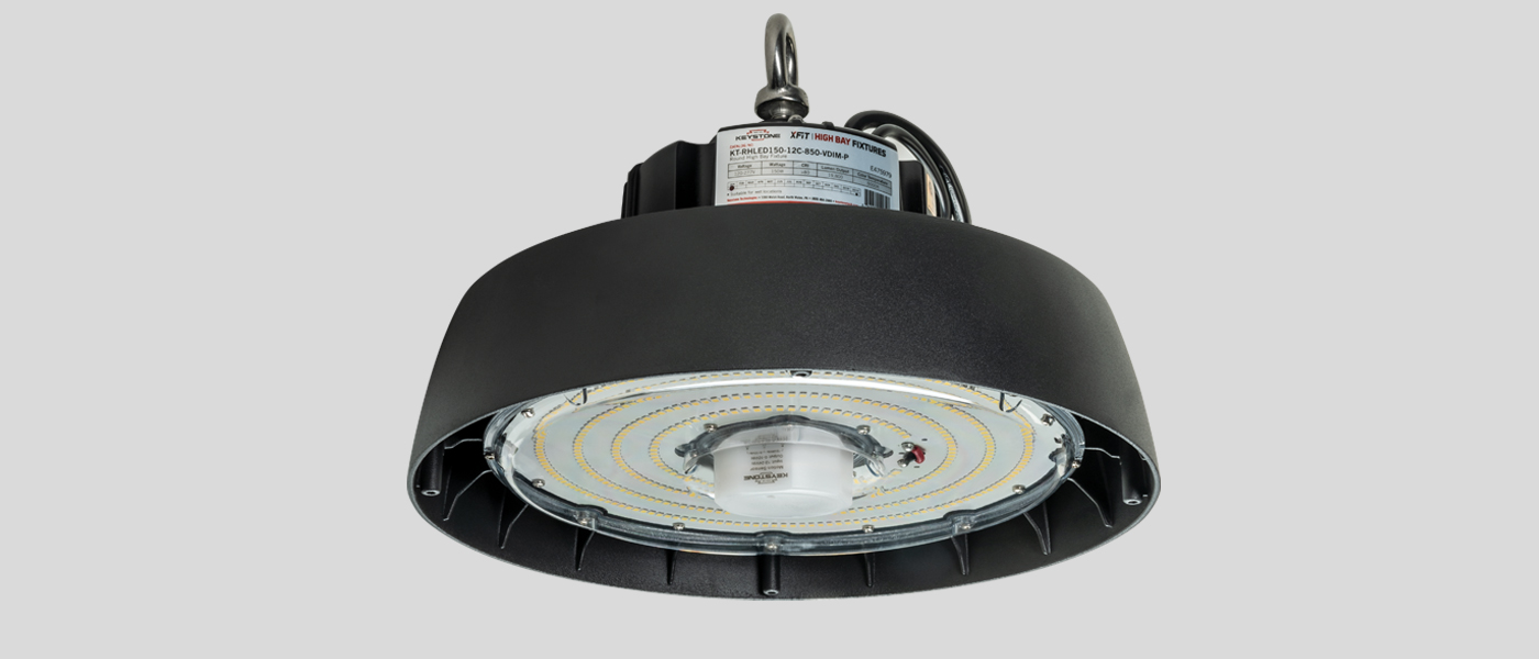 UFO LED High Bay with microwave sensor