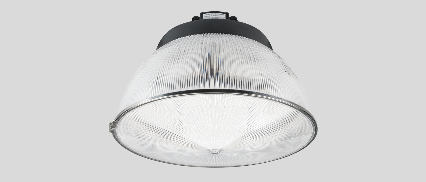 UFO LED High Bay with clear reflector