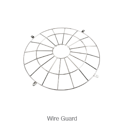 Power and Color Select Round High Bay Wire Guard